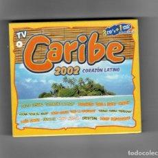 CDs de Música: TV CARIBE 2002 CORAZÓN LATINO, 3CD'S+ 1 DVD DE REGALO. Lote 178906438