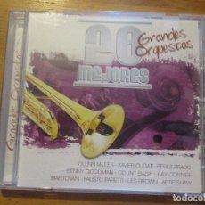 CDs de Música: 20 MEJORES GRANDES ORQUESTAS 0037 OK RECORDS GLENN MILLER XAVIER CUGAT PEREZ PRADO RAY CONNIFF. Lote 178909176