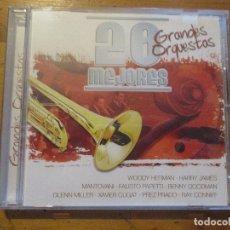 CDs de Música: 20 MEJORES GRANDES ORQUESTAS 0036 OK RECORDS GLENN MILLER XAVIER CUGAT PEREZ PRADO RAY CONNIF. Lote 178909315