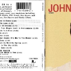 CDs de Música: JOHNNY MATHIS - A NEW SOUND IN POPULAR MUSIC. Lote 178909657