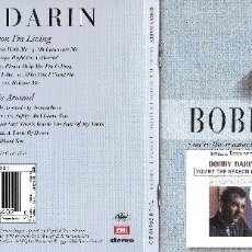 CDs de Música: BOBBY DARIN - YOU'RE THE REASON I'M LIVING / I WANNA BE AROUND - TWO IN ONE. Lote 178909735