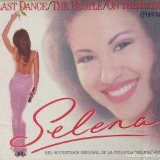 CDs de Música: SELENA POPURRÍ BSO LAST DANCE THE HUSTLE ON THE RADIO VIVIRÁS SELENA CD PROMOCIONAL. Lote 178912381