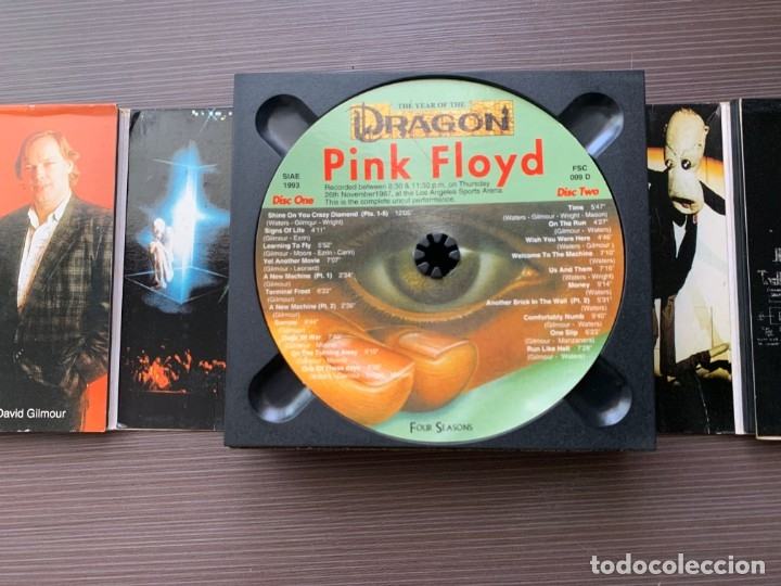 CDs de Música: Pink Floyd - The Year of the Dragon - (2 Cds Deluxe Edition) ¡MUY RARO! - Foto 7 - 178913241