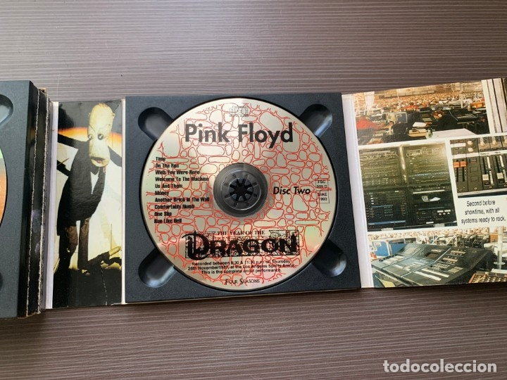 CDs de Música: Pink Floyd - The Year of the Dragon - (2 Cds Deluxe Edition) ¡MUY RARO! - Foto 9 - 178913241