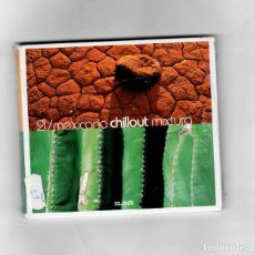 CDs de Música: MEXICANA CHILLOUT MIXTURA V.21 - 2008. Lote 49982960