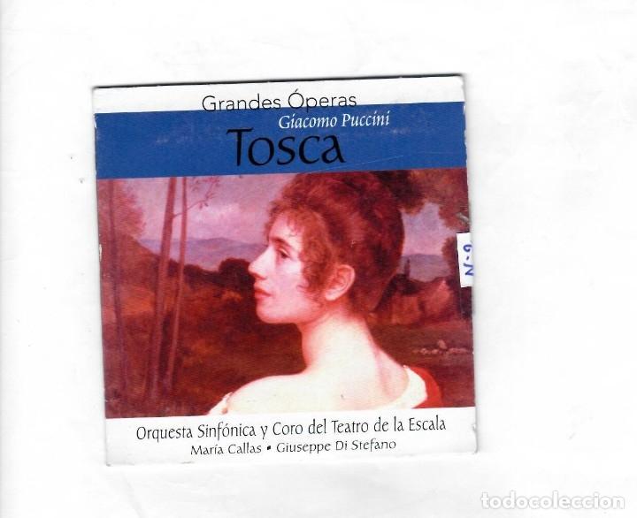 GRANDES ÓPERAS GIACOMO PUCCÍNÍ ( TOSCA) -NUEVO (Música - CD's Clásica, Ópera, Zarzuela y Marchas)