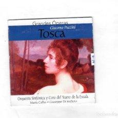 CDs de Música: GRANDES ÓPERAS GIACOMO PUCCÍNÍ ( TOSCA) -NUEVO. Lote 140569790