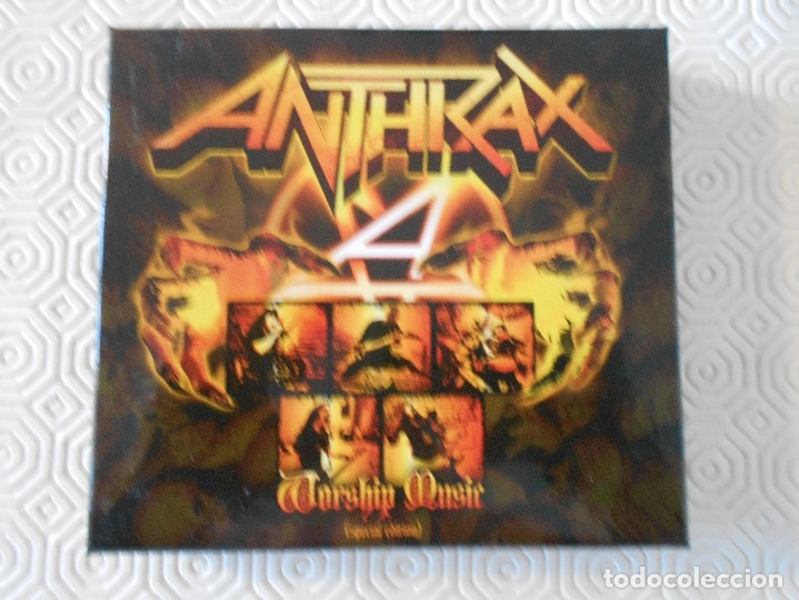 ANTHRAX. WORSHIP MUSIC. (SPECIAL EDITION). CAJA CON 2 CD'S. (Música - CD's Heavy Metal)
