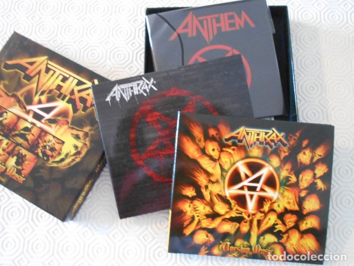 CDs de Música: ANTHRAX. WORSHIP MUSIC. (SPECIAL EDITION). CAJA CON 2 CD'S. - Foto 3 - 178926585