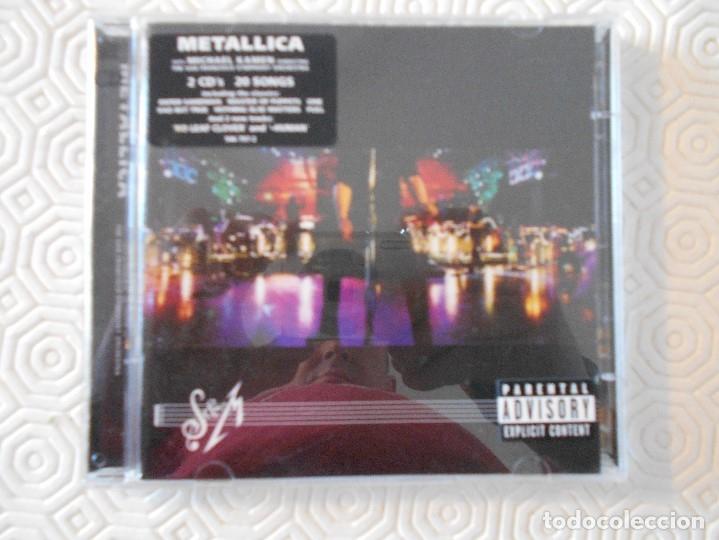 METALLICA. S & M. DOBLE COMPACTO CON 20 TEMAS. (Música - CD's Heavy Metal)