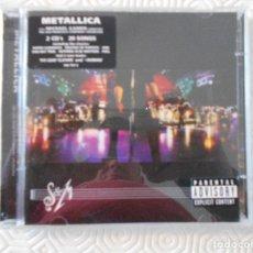 CDs de Música: METALLICA. S & M. DOBLE COMPACTO CON 20 TEMAS. . Lote 178927103