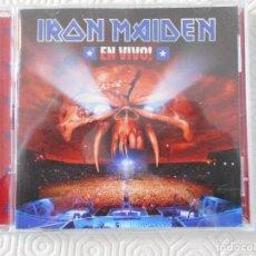 CDs de Música: IRON MAIDEN EN VIVO. DOBLE COMPACTO EN DIRECTO CON 17 TEMAS. EMI. . Lote 178927228