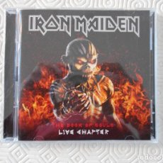 CDs de Música: IRON MAIDEN. THEBOOK OF SOULS: LIVE CHAPTER. DOBLE COMPACTO CON 15 TEMAS.. Lote 178927952