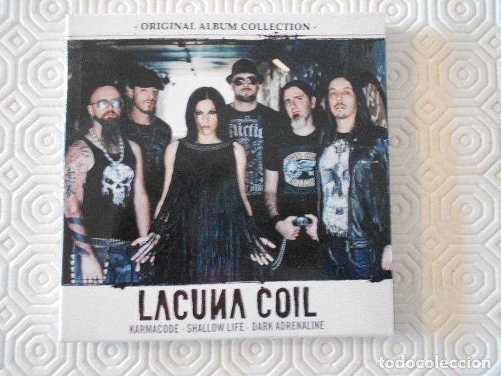 LACUNA COIL. KARMACODE. SHALLOW LIFE. DARK ADRENALINE. TRIPLE COMPACTO. (Música - CD's Heavy Metal)