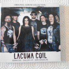 CDs de Música: LACUNA COIL. KARMACODE. SHALLOW LIFE. DARK ADRENALINE. TRIPLE COMPACTO.. Lote 178928653