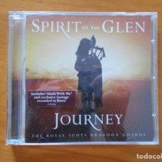 CDs de Música: CD SPIRIT OF THE GLEN - JOURNEY (EQ). Lote 178931611