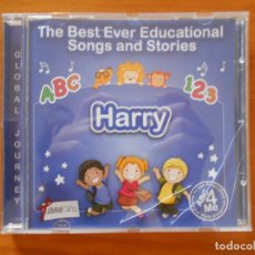 CDs de Música: CD HARRY - THE BEST EVER EDUCATIONAL SONGS AND STORIES (EQ). Lote 178931656