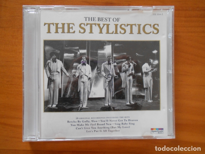 CD THE BEST OF THE STYLISTICS (FL) (Música - CD's Jazz, Blues, Soul y Gospel)
