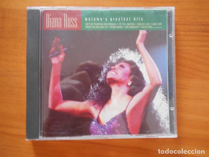 CD DIANA ROSS - MOTOWN'S GREATEST HITS (J8) (Música - CD's Jazz, Blues, Soul y Gospel)