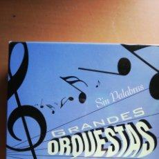 CDs de Música: SIN PALABRAS GRANDES ORQUESTAS 5 CD,S. Lote 178935443