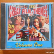 CDs de Música: CD GREAT FILM THEMES - VOLUME ONE (2A). Lote 178945498
