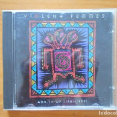 CDs de Música: CD VIOLENT FEMMES - ADD IT UP (1981-1993) (O3). Lote 178945881