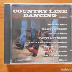 CDs de Música: CD COUNTRY LINE DANCING VOLUME 1 (F3). Lote 178946620