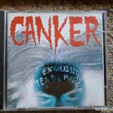CDs de Música: CANKER , EXQUISITES TENDERNESS , CD 1997 , TRASH NACIONAL , CON SEÑALES DE USO NORMAL . Lote 178950091