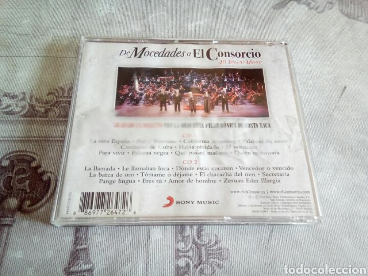 CDs de Música: CD DOBLE MOCEDADES - Foto 2 - 178954371