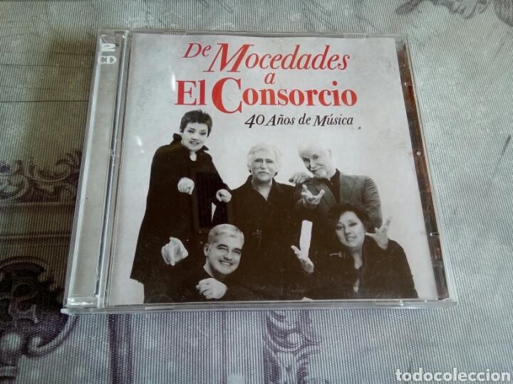 CD DOBLE MOCEDADES (Música - CD's Otros Estilos)