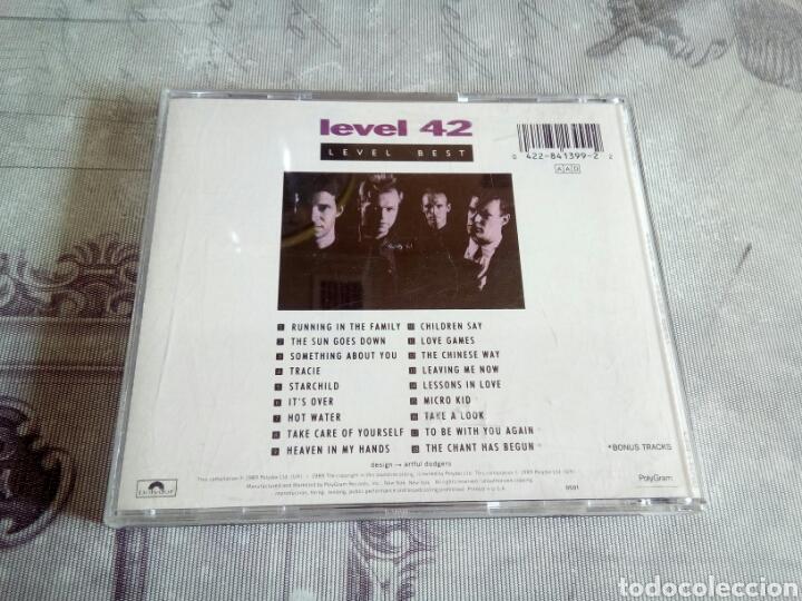 CDs de Música: CD LEVEL 42 - Foto 2 - 178954802