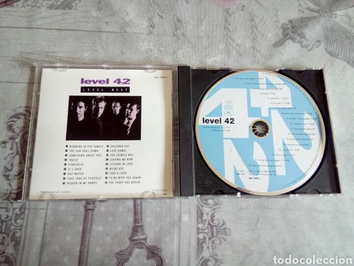 CDs de Música: CD LEVEL 42 - Foto 3 - 178954802