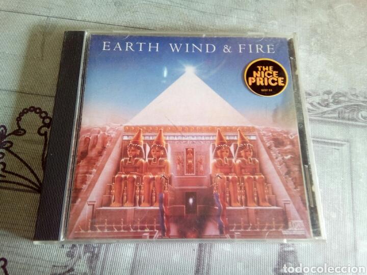 CD EARTH WIND & FIRE (Música - CD's Otros Estilos)