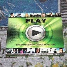 CDs de Música: PLAY - 2 CD'S - LOS ÉXITOS INTERNACIONALES DEL AÑO 2005 - COLDPLAY - DEPECHE MODE - WEA - 5101115432. Lote 48860668