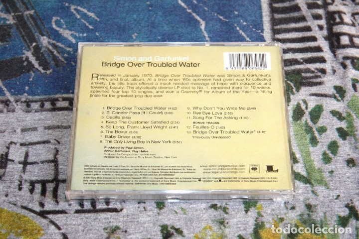 CDs de Música: Simon And Garfunkel - Bridge Over Troubled Water - 495084 2 - COLUMBIA - CD - Foto 2 - 49033827