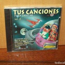 CDs de Música: TUS CANCIONES PARA CANTAR VOLUMEN 2 - CD 12 CANCIONES INFANTILES NUEVO PRECINTADO. Lote 178960662