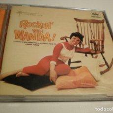 CDs de Música: CD WANDA JACKSON. ROCKIN' WITH WANDA. CAPITOL 2002 USA (CD EN BUEN ESTADO, SEMINUEVO). Lote 178967918