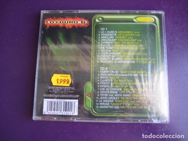 CDs de Música: Lo + Duro 6 DOBLE CD MAX MUSIC 1998 PRECINTADO - HOUSE PROGRESSIVE MAKINA TECHNO - Foto 2 - 178968698