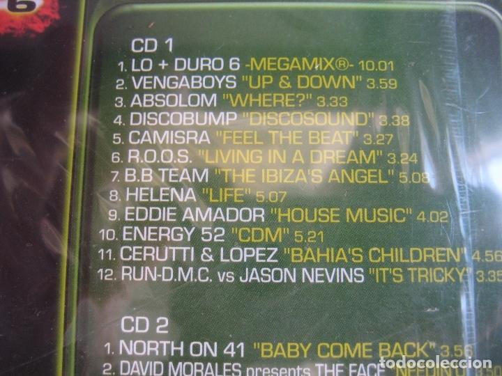 CDs de Música: Lo + Duro 6 DOBLE CD MAX MUSIC 1998 PRECINTADO - HOUSE PROGRESSIVE MAKINA TECHNO - Foto 3 - 178968698