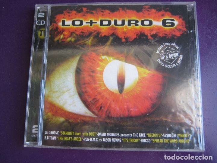 LO + DURO 6 DOBLE CD MAX MUSIC 1998 PRECINTADO - HOUSE PROGRESSIVE MAKINA TECHNO (Música - CD's Techno)