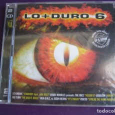 CDs de Música: LO + DURO 6 DOBLE CD MAX MUSIC 1998 PRECINTADO - HOUSE PROGRESSIVE MAKINA TECHNO. Lote 178968698