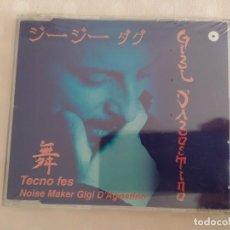 CDs de Música: GIGI D'AGOSTINO - TECNO FES. Lote 178968967