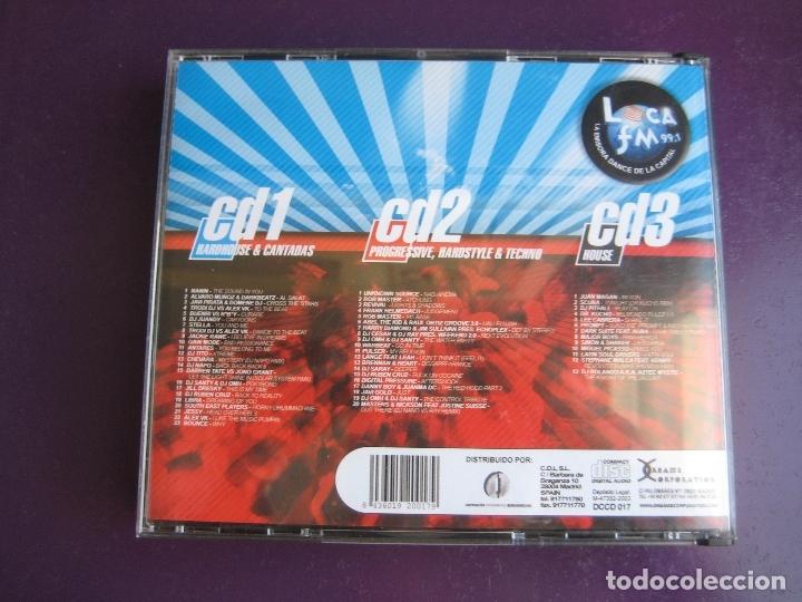 CDs de Música: Aniverdance Vol.3 TRIPLE CD DREAMS 2003 - LIGERAS SEÑALES DE USO EN CD 1 LOS OTROS 2 PARECEN SIN USO - Foto 2 - 178969438