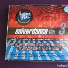 CDs de Música: ANIVERDANCE VOL.3 TRIPLE CD DREAMS 2003 - LIGERAS SEÑALES DE USO EN CD 1 LOS OTROS 2 PARECEN SIN USO. Lote 178969438