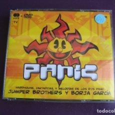 CDs de Música: PANIC DOBLE CD + DVD 2004 - ELITE - HARD HOUSE - HARDCORE - HARD TRANCE . Lote 178969790