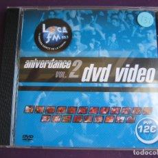 CDs de Música: ANIVERDANCE VOL. 2 DVD VIDEO - RADICAL - SABADO 25 ENERO 2003 - IMAGENES DE LA FIESTA - . Lote 178970085