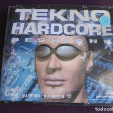 CDs de Música: TEKNO HARDCORE SESSIONS TRIPLE CD TEMPO MUSIC 2000 - MAKINA HARDCORE - MUY POCO USO. Lote 178971895