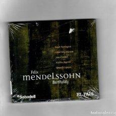 CDs de Música: FELIX MENDELSSOHN BARTHOLDY, UN CD CON ALGUNAS DE LAS MEJORES OBRAS. Lote 178978798