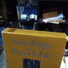 CDs de Música: CAJA COLECCIÓN DE LA ANTOLOGÍA DEL PASO DOBLE LA COLECCIÓN DEFINITIVA EN 3 CD'S. Lote 178986951