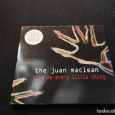CDs de Música: THE JUAN MACLEAN ‎– GIVE ME EVERY LITTLE THING CD . Lote 178987980